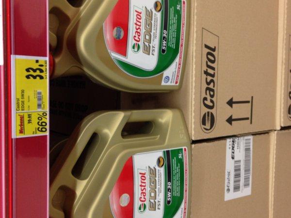 Castrol EDGE 5W30 Motorenöl für 33€ statt 99€ Bei Kaufland in Berlin Ollenhauer Str. in Reinickendorf