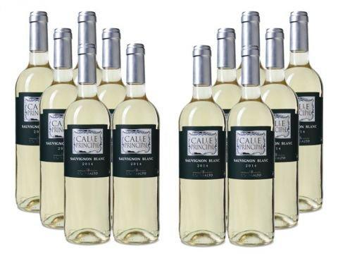 12 Flaschen Weißwein Bodegas Vinedos Contralto - Calle Principal Sauvignon Blanc @Weinvorteil mit Gutscheincode