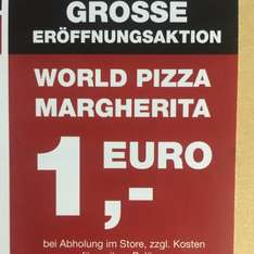 (Lokal Erfurt) (World of Pizza) - Pizza Margherita