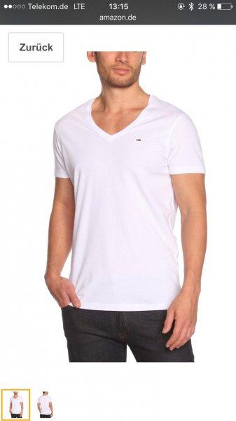 Tommy Denim bestes Basic V-Shirt selten vergünstigt- hier 30%!