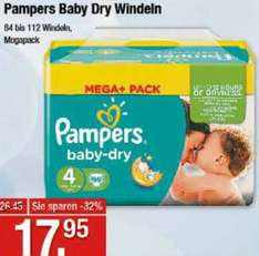 [V-MARKT] Pampers Mega+ für 13,95€ (Angebot+Coupon)