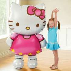 [AliExpress] Hello Kitty Ballon 116 x 65 cm nur 1 €