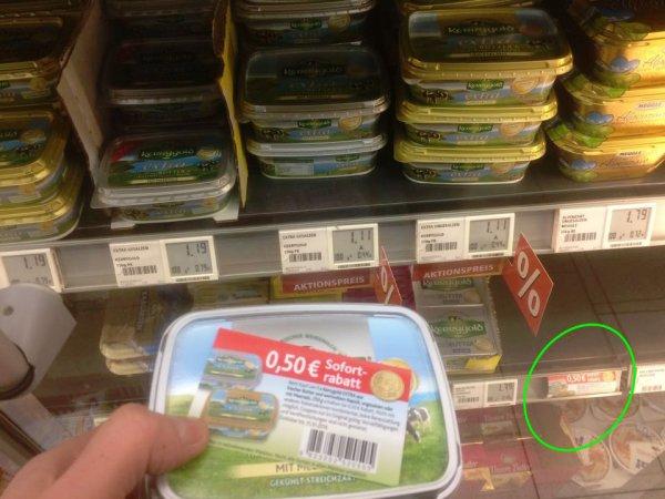 Kerrygold Extra Butter für 61 Cent (Rewe Leipzig, evtl. bundesweit?)