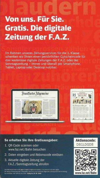 FAZ - drei online-Ausgaben umsonst (nochmal neue Codes)
