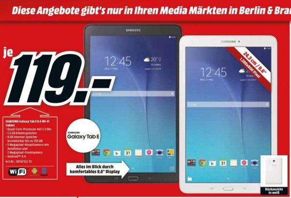 [lokal] MediaMarkt Berlin/Brandenburg - Samsung Galaxy E 9.6 für 119€ - PVG: 169€