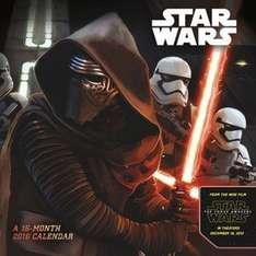 Star Wars: The Force Awakens Kalender für 2.69€ @ zavvi