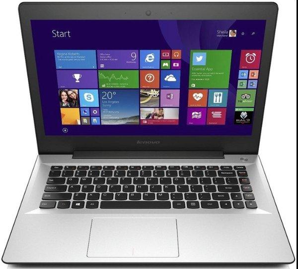 Lenovo U41-70 für 699€ - 14'' mattes FHD Display mit Core i5-5200U, 8GB RAM, 256GB SSD, GeForce 940M, Windows 10