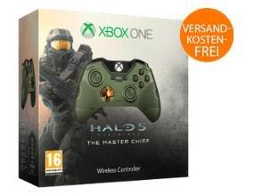 Xbox One Wireless Controller Master Chief - Limited Edition für 40€ bei Saturn.de