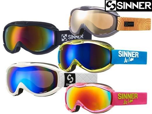 [iBood] Sinner Toxic Unisex Skibrillen / Snowboardbrillen mit UV100 verschiedene Farben
