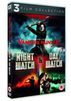 Abraham Lincoln: Vampire Hunter + Night Watch + Day Watch (DVD) OT für 3,88€ bei Zavvi