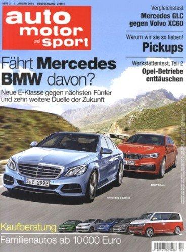 Auto, Motor & Sport Jahresabo (26 Ausgaben) für 9,90€ - (Direktrabatt durch Gutscheincode)