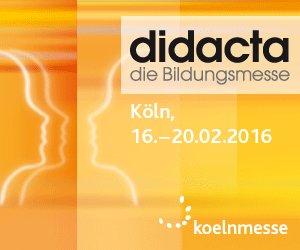 kostenlose Tickets für die Didacta in Köln 2016 + ÖPNV (VRS)