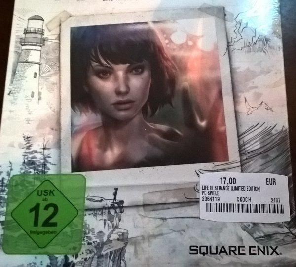 [Media Markt bundesweit +online ] Life is Strange PC/DVD Limited Edition 17€ bzw. online 18,99€ inkl. Versand