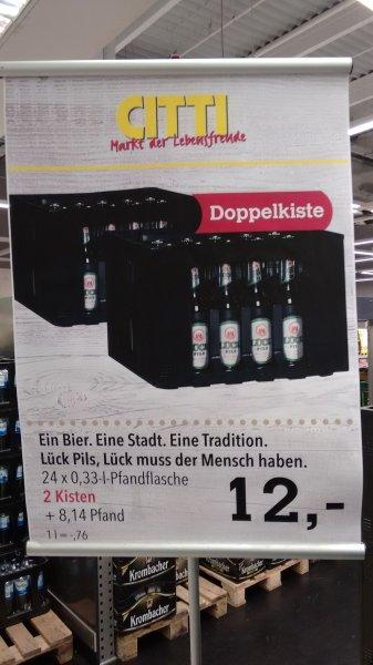 [Citti in Lübeck] Lück Pils - 2 Kisten