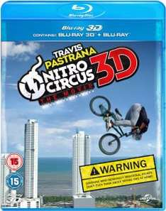 Nitro Circus: The Movie (3D Blu-ray) + Zorn der Titanen (3D Blu-ray) für 13€ bei Zavvi.de