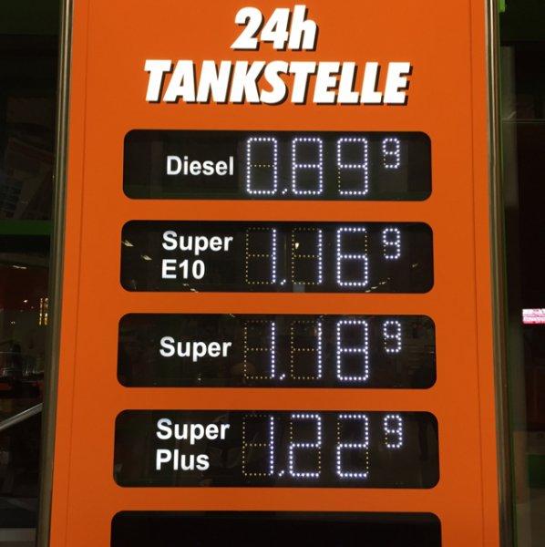 [lokal Wittlich] Globus Tankstelle - Diesel für 0,899/l