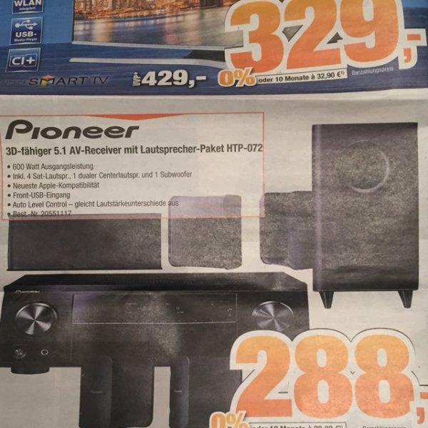 Expert Bening - Pioneer HTP072 288€ / Idealo: 329,89€