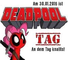 "Große Marvel Aktion: Gratis Comic & Masken zum Film ""Deadpool"" (30. Januar)"