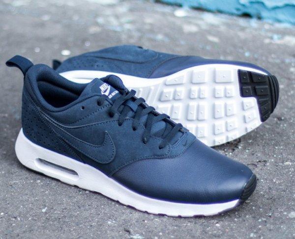 Nike Air Max Leder Blau