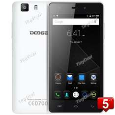 "DOOGEE X5S 5"" HD IPS, 4G LTE, Android 5.1 Smartphone MTK6735P, 8MP CAM, 1GB RAM, 8GB ROM, 64-bit Quad-Core (tinydeal)"