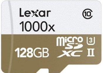 [Crowdfox] Lexar Professional 1000x microSDXC 128GB Class 10 / U3 (R.: 150 MB/s & W.: 51 MB/s) für 55,49€