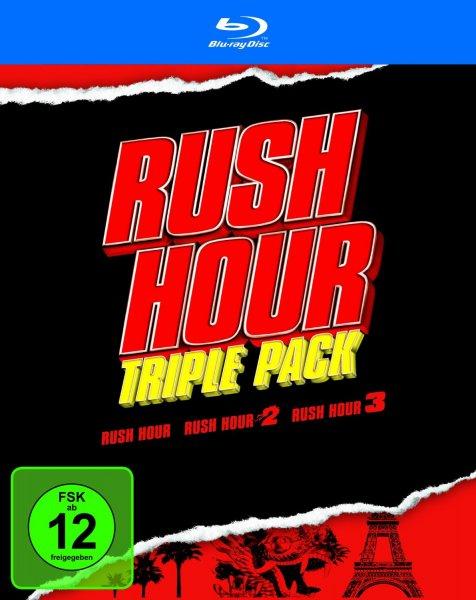 Rush Hour 1 - 3 (Blu-ray) für 13,99€ bei Saturn/Media Markt