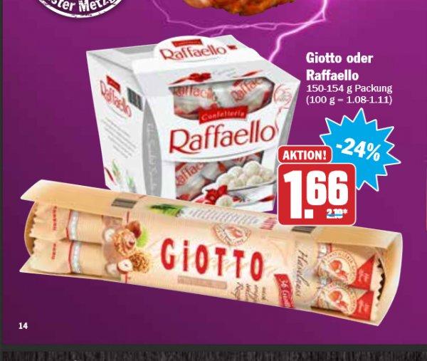 Rafaello für 1,66€ bei Hit