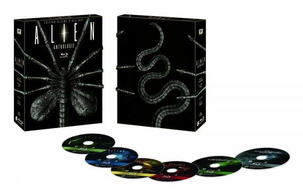 Alien Anthologie – Facehugger Edition (Blu-ray) für 21,88€ bei Amazon.fr