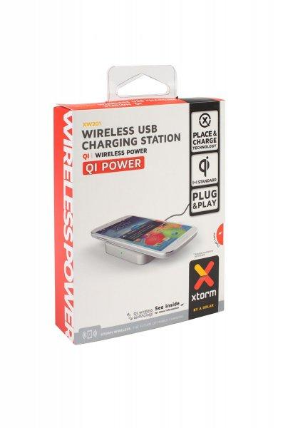 "Xtorm XW201 Xtorm Wireless USB Charging station ""Qi"""