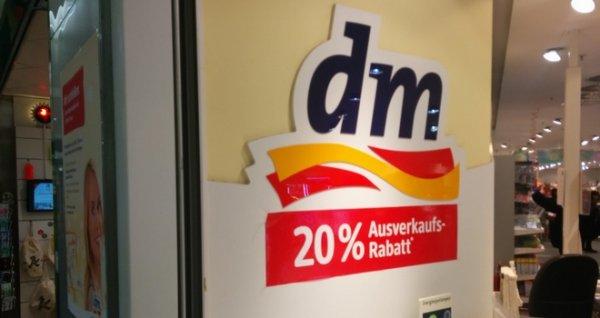 [DM - lokal] 20% Ausverkaufs-Rabatt ab 25.01. (Dessau-Roßlau - Rathaus-Center)