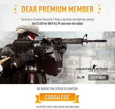 [STEAM] Counter-Strike: Global Offensive / CS:GO Key für 4,99 €