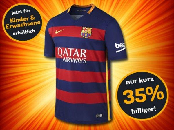 FC Barcelona Trikot 15/16 35% Reduziert