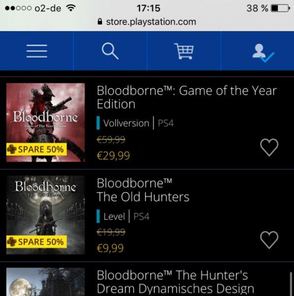 [PS4/PSN] Bloodborne GotY für Plus Mitglieder 29,99€
