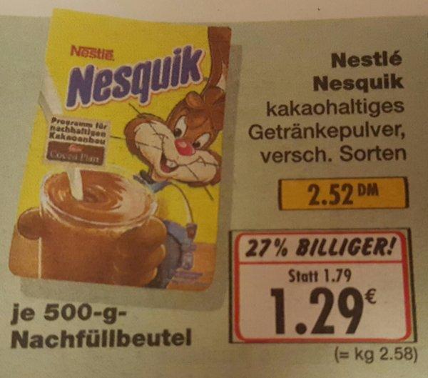 [Kaufland-Oberhausen] Nestlé Nesquik