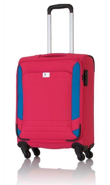 [Amazon - Prime] Pack Easy Koffer Athen, 57 cm, 41 Liter, rot/blau für 23,70 Euro