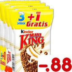 Kinder Maxi King 3+1 nur 22 Cent pro Riegel [ Netto MD ]
