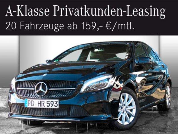 [lokal] A-Klasse Privatleasing ab 159€ - limitiert auf 20 Fahrzeuge
