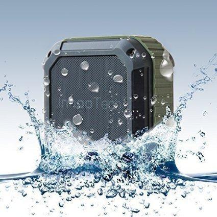 InnooTech Wasserdichter Bluetooth Lautsprecher 15,99€ mit Prime, geeignet für Outdoor / Dusche