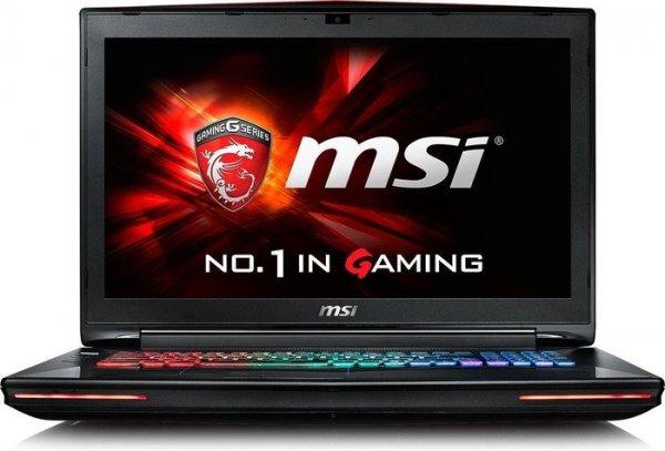 MSI GT72 6QD Dominator mit i7-6700HQ Quad-Core bis 3.5GHz, GTX 970M, 8GB DDR4, 17,3 Zoll Full-HD matt für 1.299€ bei Cyberport.de