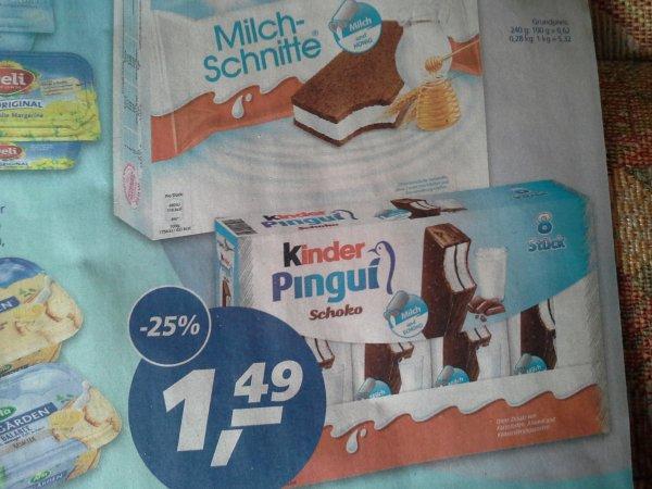 Milchschnitte 10er / Pingui 8er 1,49 im Real,- (Prospekt Berlin, evtl. bundesweit)