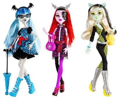 """Mattel Monster High """"Fatale Fusion"""" Puppe für je 9,00€ @Kaufland"""
