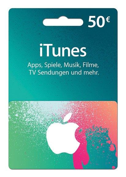iTunes 50-Euro-Geschenkkarte für 40€! Ulm/Neu-Ulm [Lokal?]