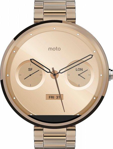[notebooksbilliger.de] Motorola Moto 360 Gold Metal für 174,98€ inkl. Versand