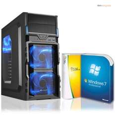 Komplett PC, AMD A8-7600 (4x3,9), 16GB RAM, 128GB SSD, 500GB HDD, Windows 7 Pro (Windows 10 Pro), Office 2010 Starter ~359,00€ inkl. Versand