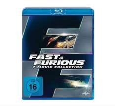 Fast & Furious - 7 Movie Collection [Blu-ray] für 30€ bei Media Markt