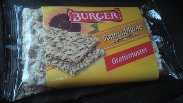 Dresden (eventl. lokal) gratis Promopack Knäckebrot von Burger