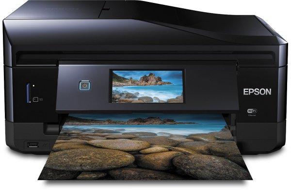 [Amazon] Epson Expression Premium XP-820 Tintenstrahl-Multifunktionsgerät (Drucken, Scannen Kopieren und Faxen) schwarz
