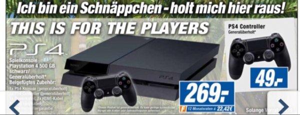 PlayStation 4 500GB bei Expert in Flensburg *Generalüberholt!