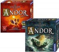 [Amazon / Brettspiel] Die Legenden von Andor und die Reise in den Norden Bundle