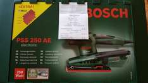 Bosch Schwingschleifer PSS 250 AE, OBI Deal, Tiefpreisgarantie Bauhaus/Hornbach